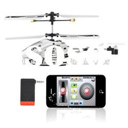 3.5CH R/C metal toy rc airplane With GYRO iphone control