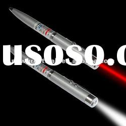 3 in 1 laser pointer, led light+red laser pen+ballpoint pen NG020