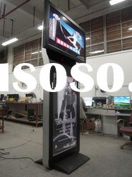 42+47 inches Dual Display Exhibition Advertising Equipment