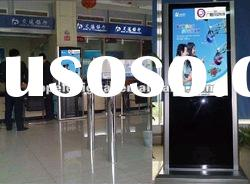 42 inch network lcd advertising digital signage,digital poster for bank