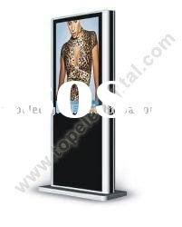 47 inch floor standing lcd video advertising display