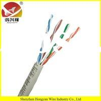4 pairs 24AWG Copper conductor UTP CAT5E Lan cable 305m/Box