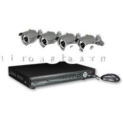 4ch network dvr cctv camera Security Surveillance system