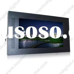 55 inch large lcd advertising monitor,display for builting-incabinet