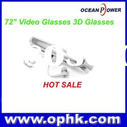 "72"" Video Glasses 3D Glasses For Iphone, for Ipad, for Ipod"