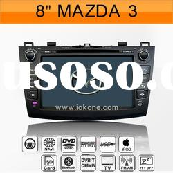 "8"" In-dash Car DVD Player for Mazda 3 2010-2012 with GPS Navigation"