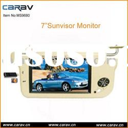 "9"" TFT-LCD Sunvisor Monitor with USB/SD/MMC Port"