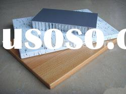 Aluminum honeycomb sandwich panel with special effect