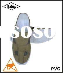 Anti-static clean room PVC shoes