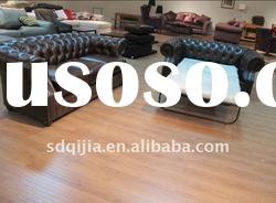 Antique American Style Leather Sofa cum Bed