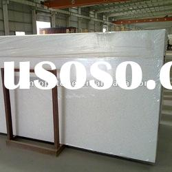 Artificial quartz stone slabs with different color