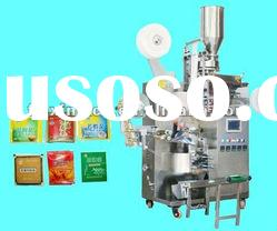 Automatic Tea bag packing machine with thread,tag and envelope