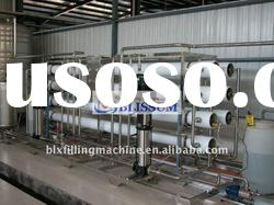 Automatic drinking water treatment plant with RO