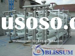 Automatic pure/mineral water treatment plant with RO