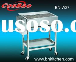 BN-W27 Stainless Steel Charcoal Barbecue--Hot Sales