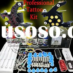 Beginner Tattoo Kits Power 8 Ink 1/2 oz Grip Needle equipment Supplies