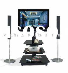 Best Selling Modern Metal Lcd Tv Stand (LB-TV-018B)