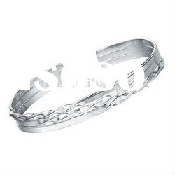 Bracelet Silver fashion 925 sterling silver Jewelry Factory supply Rhodium plated SB0053