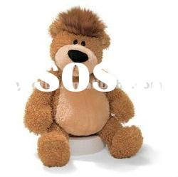 Brown Plush Soft Hairy Teddy Bear Sitting Toys