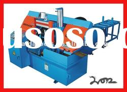 CNC automatic band sawing machine with automatic feed