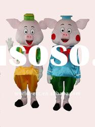 Cartoon pig mascot costume cartoon costume