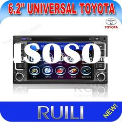 Cheap toyota universal dvd player car radio with bluetooth/ipod