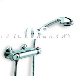 Chrome Polished Thermostatic Shower Faucet Set (1006)