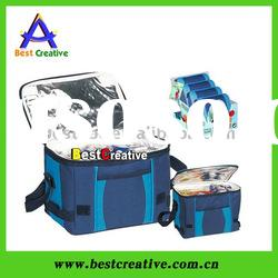 Cooler bag with adjustable shoulder strap