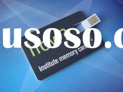 Credit card size USB memory storage device