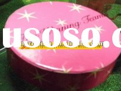 Customized Round Paper gift box with high quality