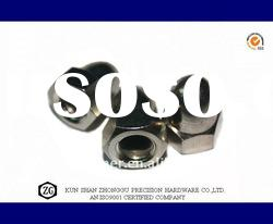 DIN1587 Nickel plated brass domed cap nuts