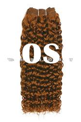 Deep Wave 10-30inch mixed human hair and synthetic weft/extensions