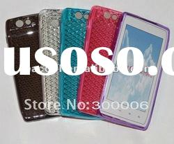 Diamond Pattern Soft TPU Gel Case for Motorola Droid RAZR XT910