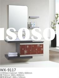 Discount Bathroom Vanity With Pure White Ceramic Basin