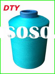 Dope dyed DTY polyester yarn