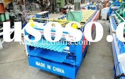 Double deck corrugated roof board roll forming machine XF840/856