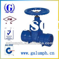 Ductile Iron Grooved Gate Valve Manufacturer