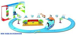 Electric Cartoon Thomas track train /Kids toy