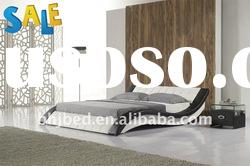 European modern leather bed F6280