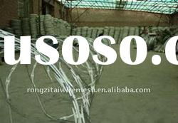 Factory Of Hot Dipped Galvanized Razor Sharp Barbed Wire