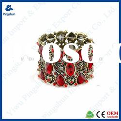 Fashion Jewelry 2012 Gold Bangle for Promotional New Design Alloy Bangle