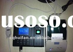 Fingerprint/Rfid Card Time Attendance/ Time Clock/Time Recording Machine with External Printer
