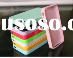 Free Shipping TPU Gel Silicon Case for iPhone 4S 4G