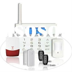 GS-G80CE Touch keypad GSM alarm system with One-Key arm feature