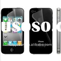 HOT ! Mobile phone screen protector for iphone 4 4G,for iphone 4S 4GS for iphone 4 CDMA