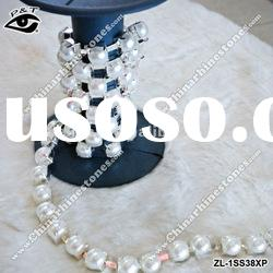 HOT SELL pearl cup chain rhinestone trimming ZL-1SS38XP