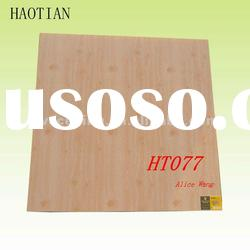HT077 595mm x 595mm x 7mm Wood Color PVC Ceiling Panel