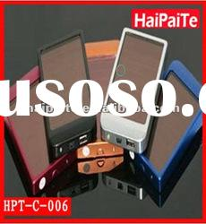 Haipaite 2012 high efficiency solar charger with2600 mAH battery and 0.4 W solar panel
