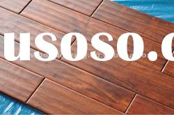 Hand-craped Exotic Acacia UV Coating Solid wood Flooring