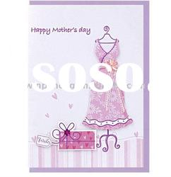 Happy Mother's day paper greeting card